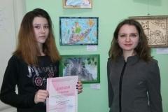 Татьяна Юрьевна с ученицей Татьяной Петриной